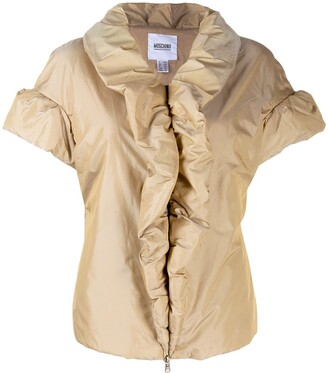 Moschino Pre-Owned 1990's Draped Padded Shortsleved Jacket