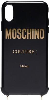 Moschino chain strap iPhone XS Max case