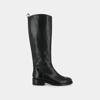 Jonak Mythe Leather Knee-High Riding Boots