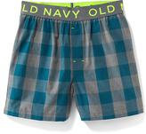 Old Navy Printed Woven Boxers 1-Pack for Boys