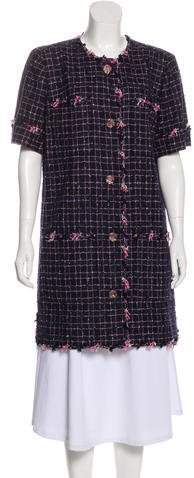 Chanel Tweed Coat Dress