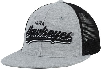 Top of the World Unbranded Youth Gray Iowa Hawkeyes Cutter Adjustable Hat