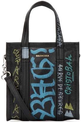 Balenciaga XXS Bazar Graffiti Tote Bag