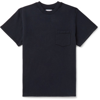 4SDESIGNS Fleece-Back Cotton And Wool-Blend T-Shirt