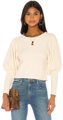 Majorelle Puff Sleeve Sweater