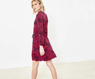 Oasis Heart Print Shirt Dress