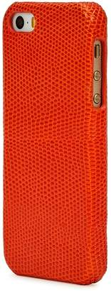 Factory The Case Lizard-effect Leather IPhone 5/5S/SE Case