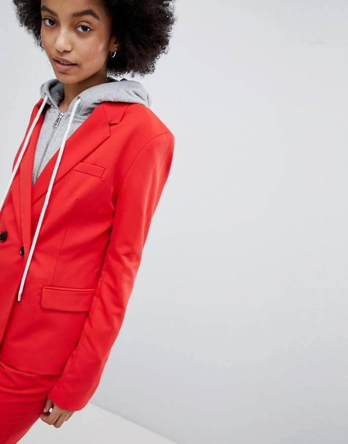 Bershka Co-Ord Tailored Blazer