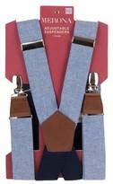 Merona Men's Webbing Suspenders One Size