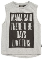 Rock Your Baby Toddler Boy's Mama Said Graphic Tank