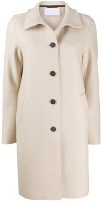 Harris Wharf London Tailored Single-Breasted Coat