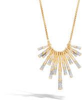 John Hardy Bib Necklace with Diamonds