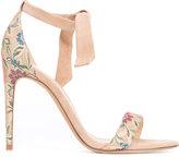 Alexandre Birman Dolores jacquard sandals - women - Leather/Suede/Viscose - 36