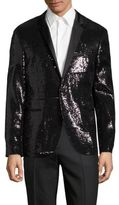 HUGO BOSS Adris Full Sequin Blazer