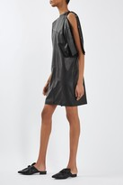 Topshop Batwing Leather Dress by Boutique