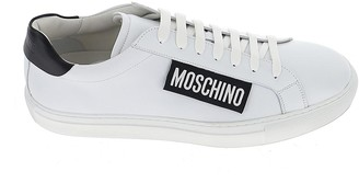 Moschino Logo Label Lace-Up Sneakers