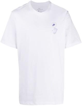 Nike logo cotton T-shirt