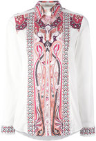 Etro Hindu print shirt - women - Cotton/Spandex/Elastane - 42