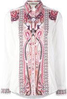 Etro Hindu print shirt - women - Cotton/Spandex/Elastane - 46