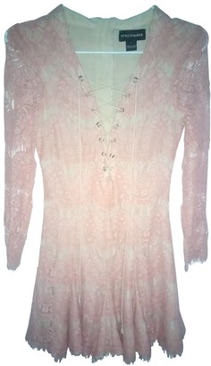 Style Stalker Pink Lace Dress for Women