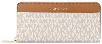 MICHAEL Michael Kors Zip Around Monogram Print Purse