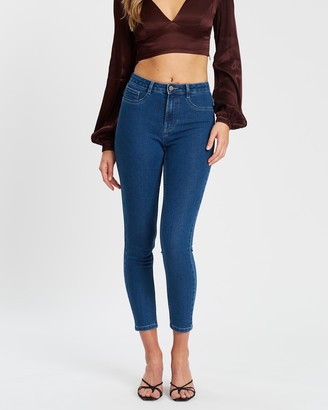Only High-Rise Skinny Jeans