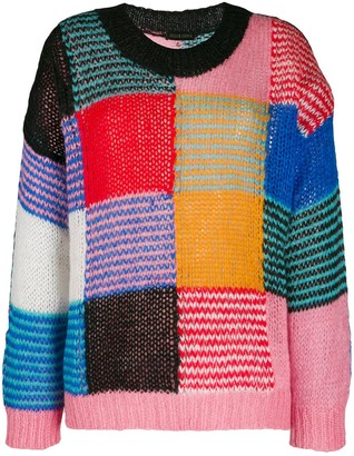 Stine Goya Patchwork Jumper