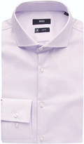 HUGO BOSS Micro-print cotton shirt