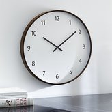 "Crate & Barrel Lorne 20"" Wall Clock"