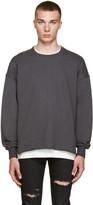 Fear Of God Grey Crewneck Pullover