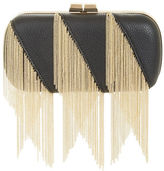 BCBGMAXAZRIA Keira Embossed Faux Leather Clutch
