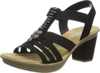Rieker Women's 66506-00 Closed Toe Sandals