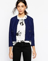 YMC Zip Front Cropped Jacket