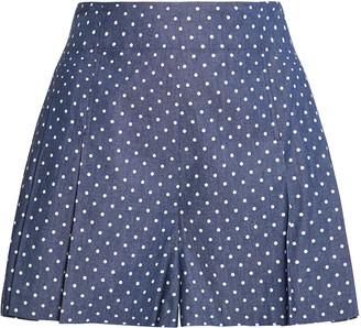 BCBGMAXAZRIA Cotton Twill Shorts