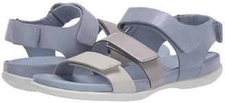 Ecco Flash Flat Sandal (Black Cow Nubuck) Women's Sandals