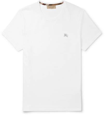 Burberry Cotton-jersey T-shirt - White