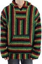 Baja Joe Men's Pullover Hoodie Poncho 2XL