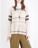 Free People Craft Time knitted jumper