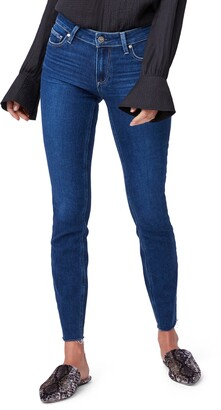 Paige Verdugo Ankle Raw Hem Jeans