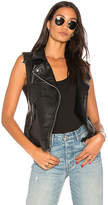 Blank NYC BLANKNYC Denim Vest in Black. - size L (also in M,S,XS)