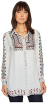 Scully Deanna Embroidered Tunic Women's Blouse