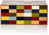 Ercolano Colorblocked Jewelry Box