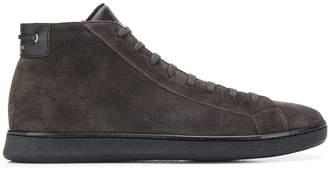 Car Shoe Smooth zip-up sneakers