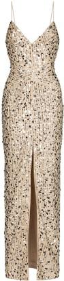 Rasario Sequinned Maxi Dress