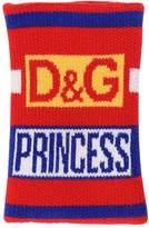 Dolce & Gabbana Princess Jacquard Wool Cuffs