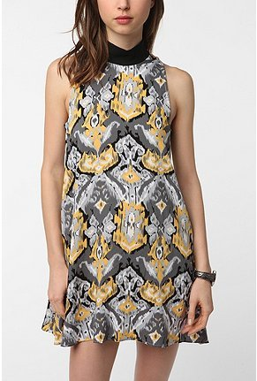 Urban Outfitters Urban Renewal High Neck Mod Dress