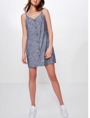 Cotton On Juniors' Woven Margot Slip Dress