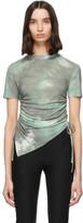 Andersson Bell Khaki Tie-Dye Cindy Asymmetric T-Shirt