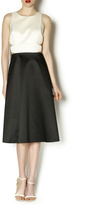 Cynthia Rowley Bonded Satin Dress