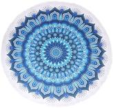 Riah Fashion Blue-Abstract Beach Towel